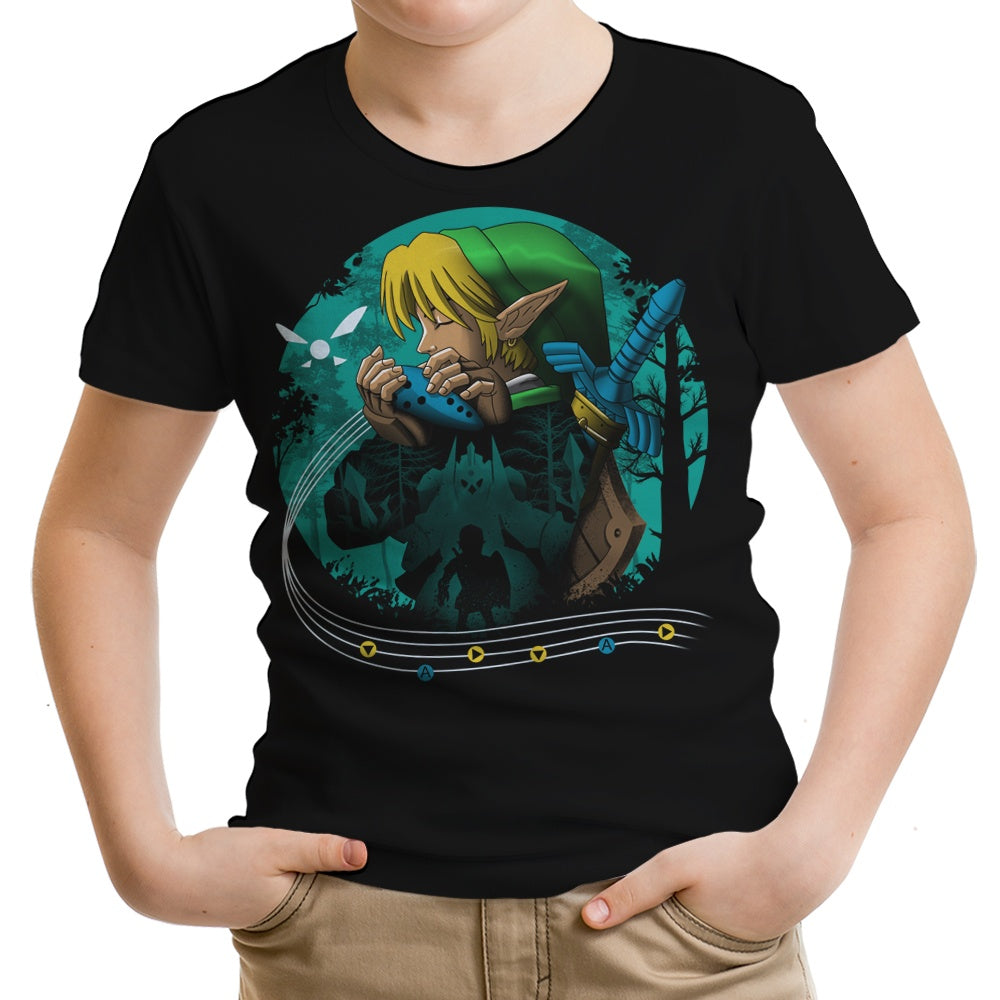 Hyrule Time Traveler - Youth Apparel