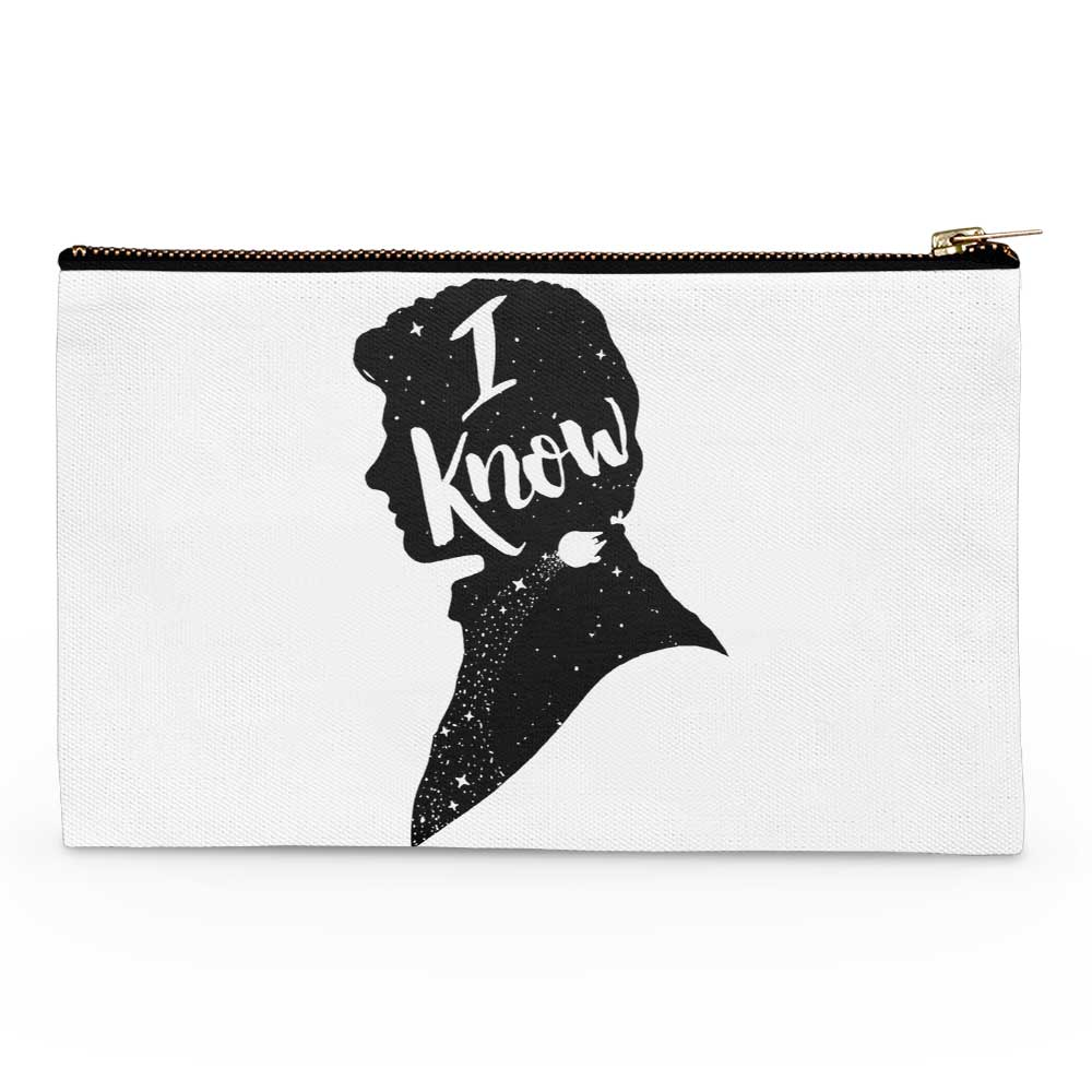I Know - Accessory Pouch