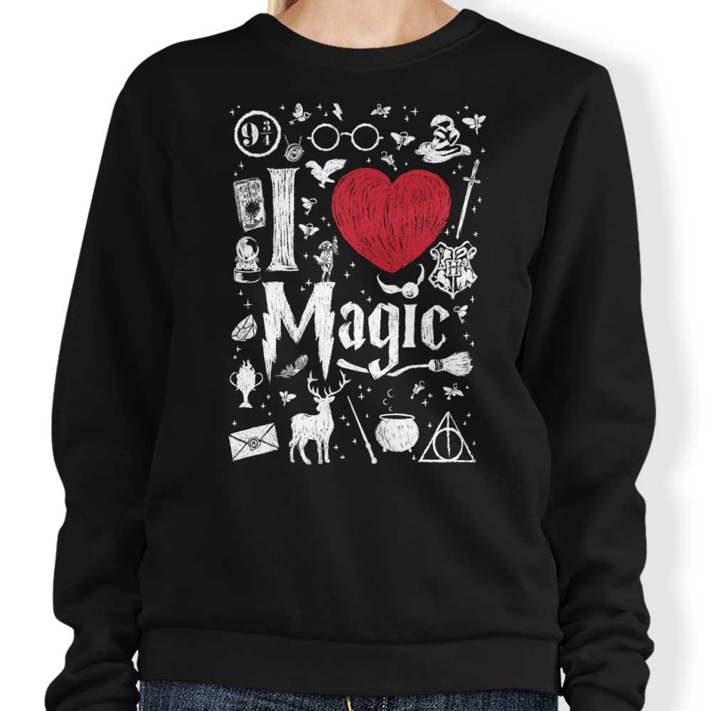 I Love Magic - Sweatshirt