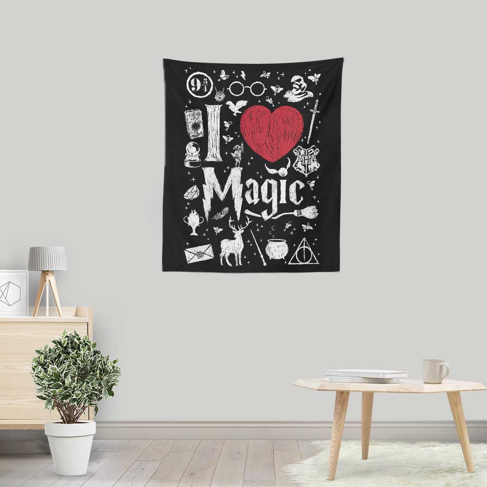 I Love Magic - Wall Tapestry