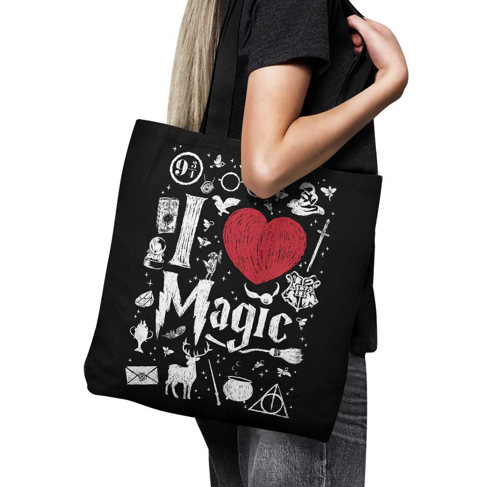 I Love Magic - Tote Bag