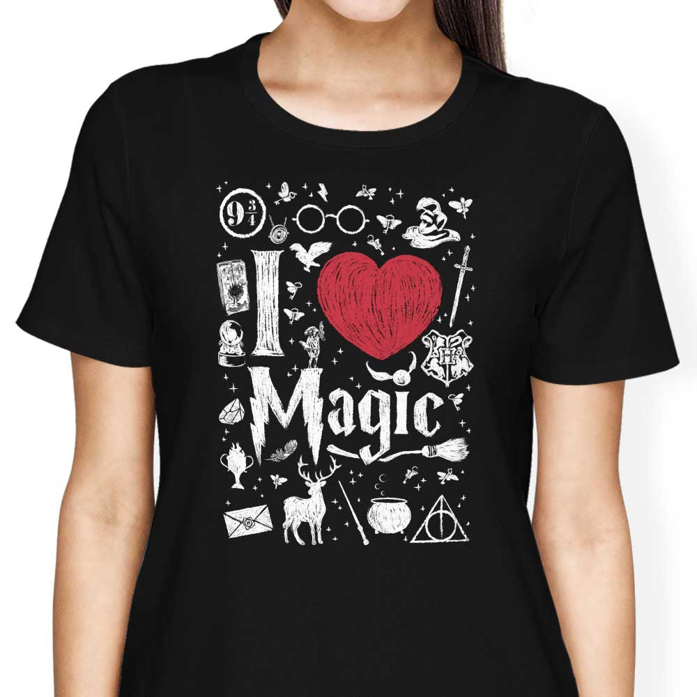 I Love Magic - Women's Apparel