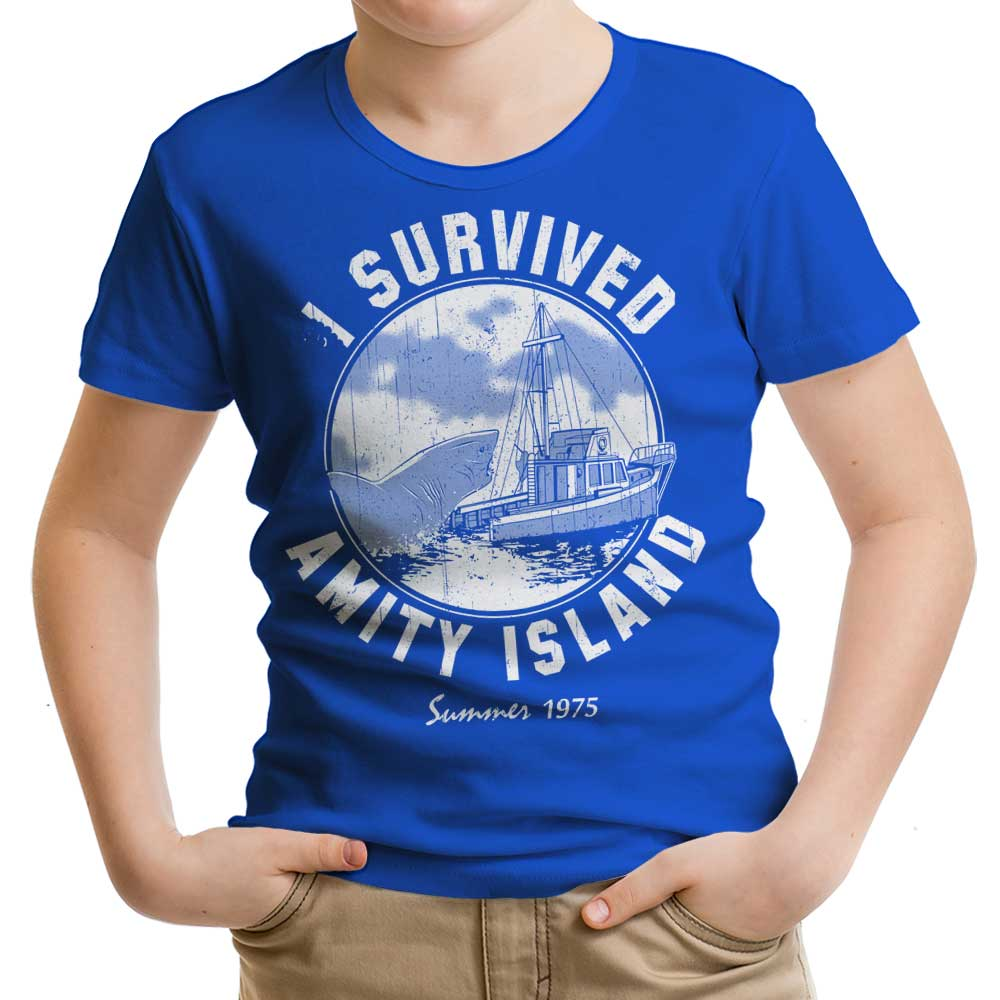 I Survived Amity Island - Youth Apparel