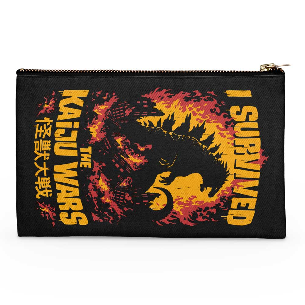 I Survived the Kaiju Wars - Accessory Pouch
