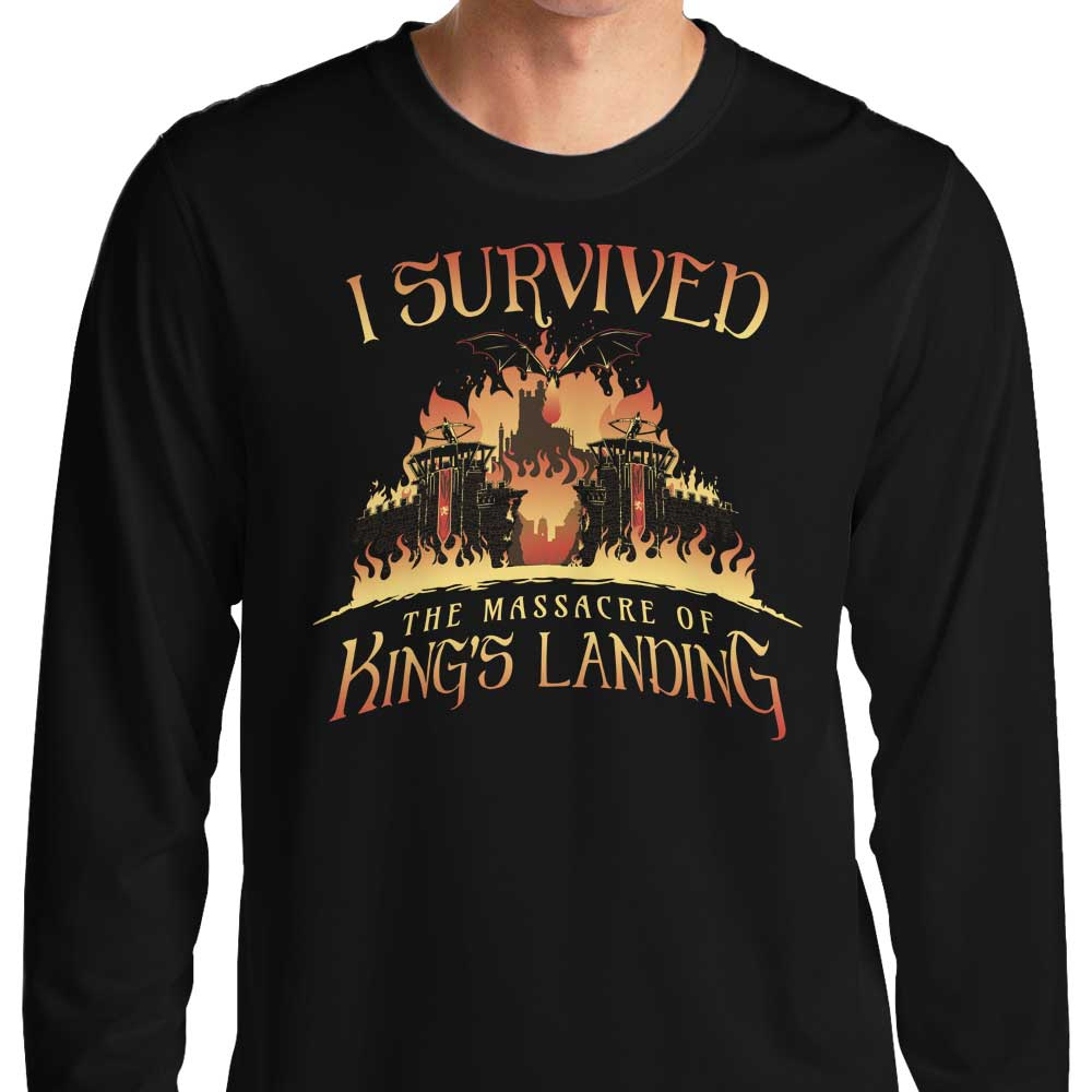 I survived the Mad Queen - Long Sleeve T-Shirt