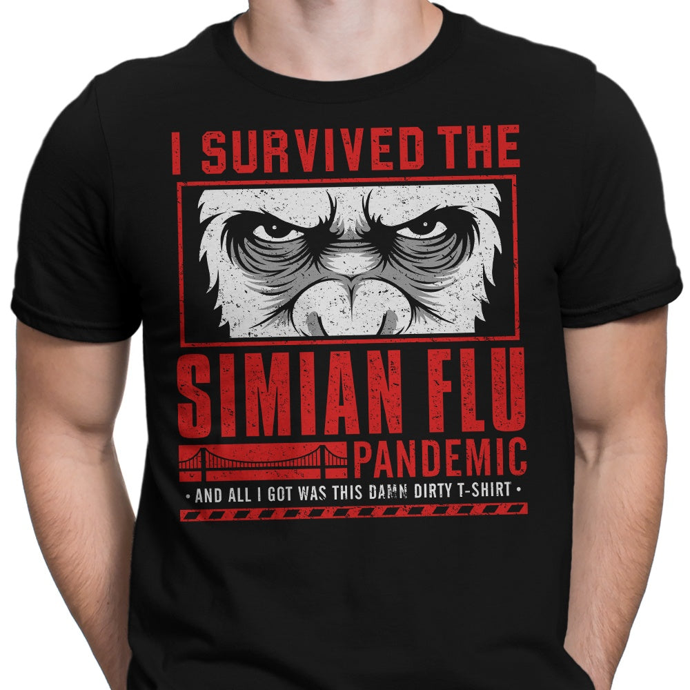 I Survived the Simian Flu - Men's Apparel
