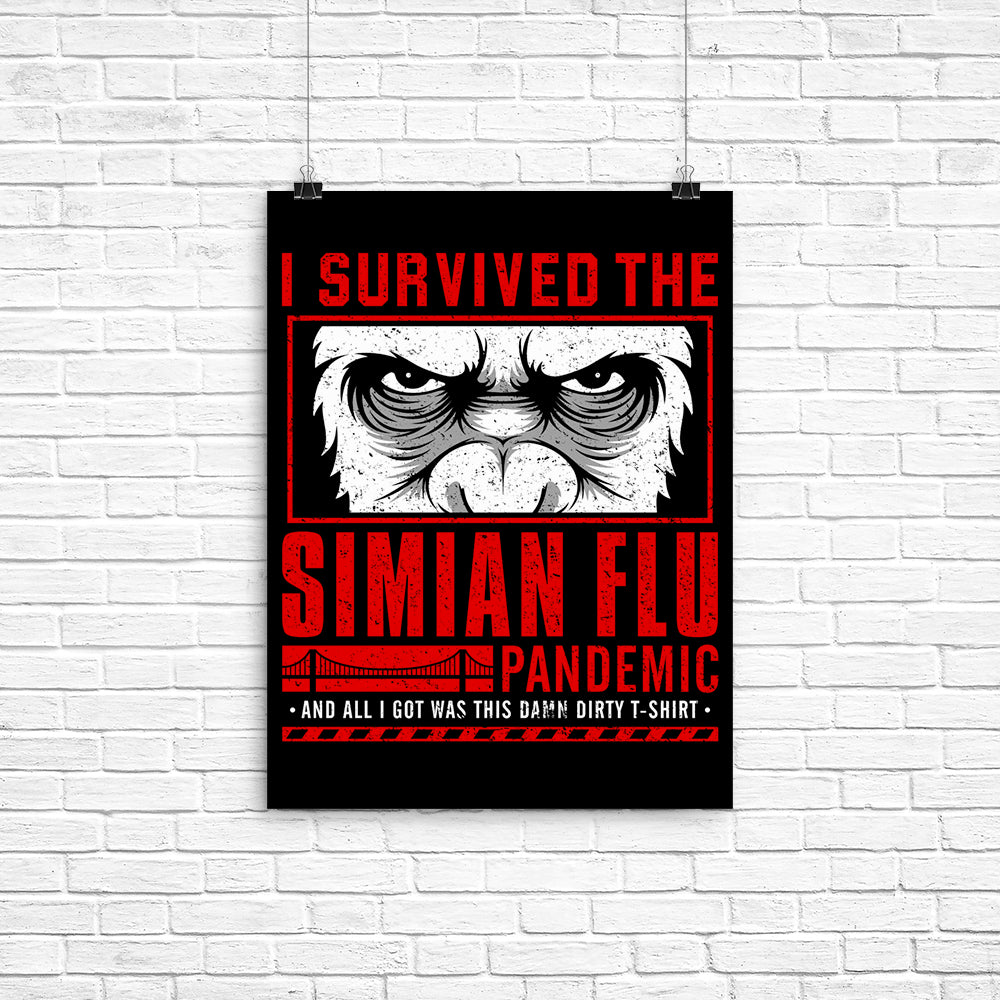 I Survived the Simian Flu - Poster