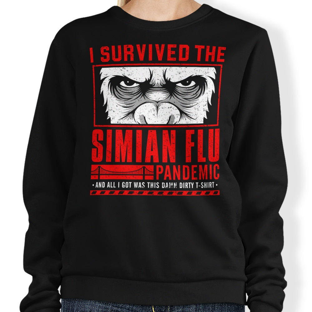 I Survived the Simian Flu - Sweatshirt