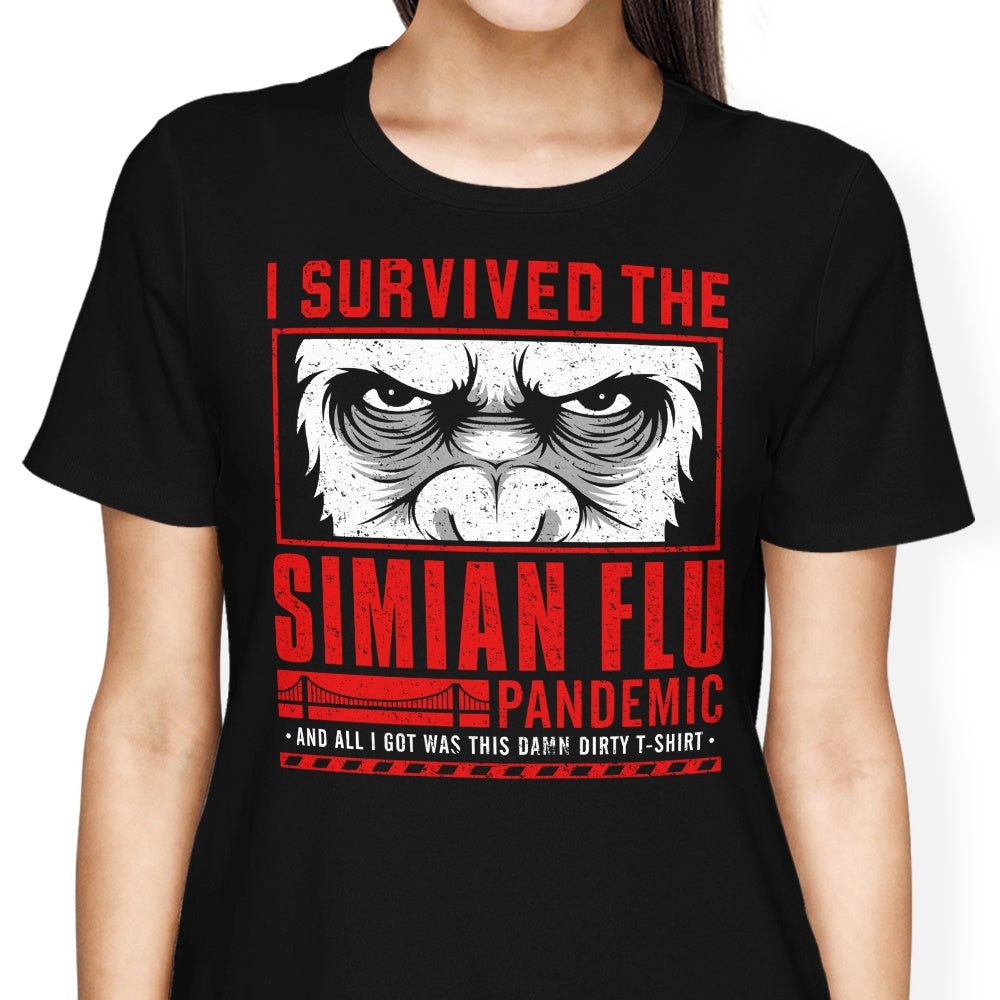 I Survived the Simian Flu - Women's Apparel