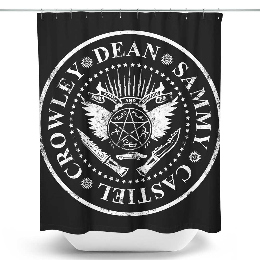 I Wanna Be Supernatural - Shower Curtain