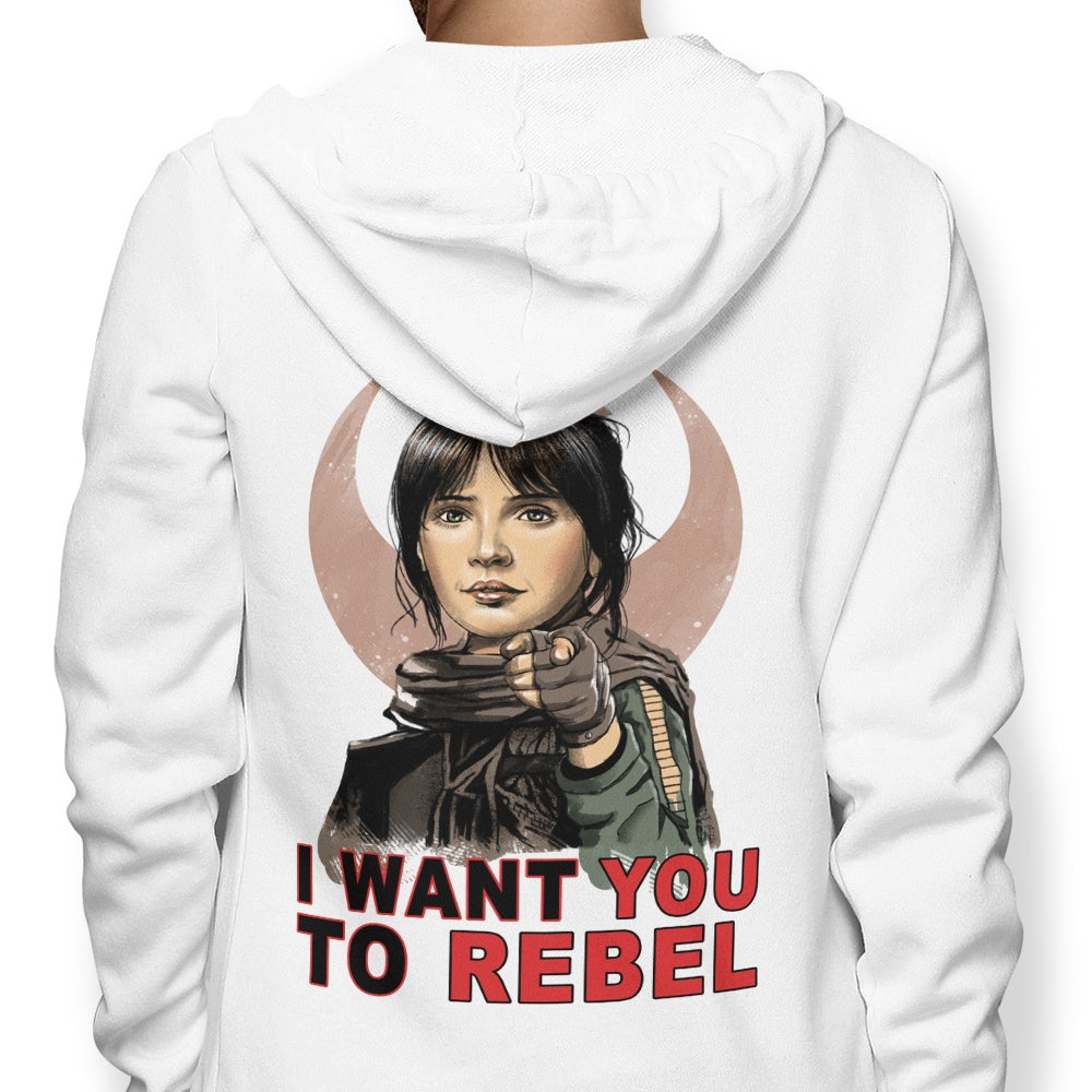 I Want You to Rebel - Hoodie