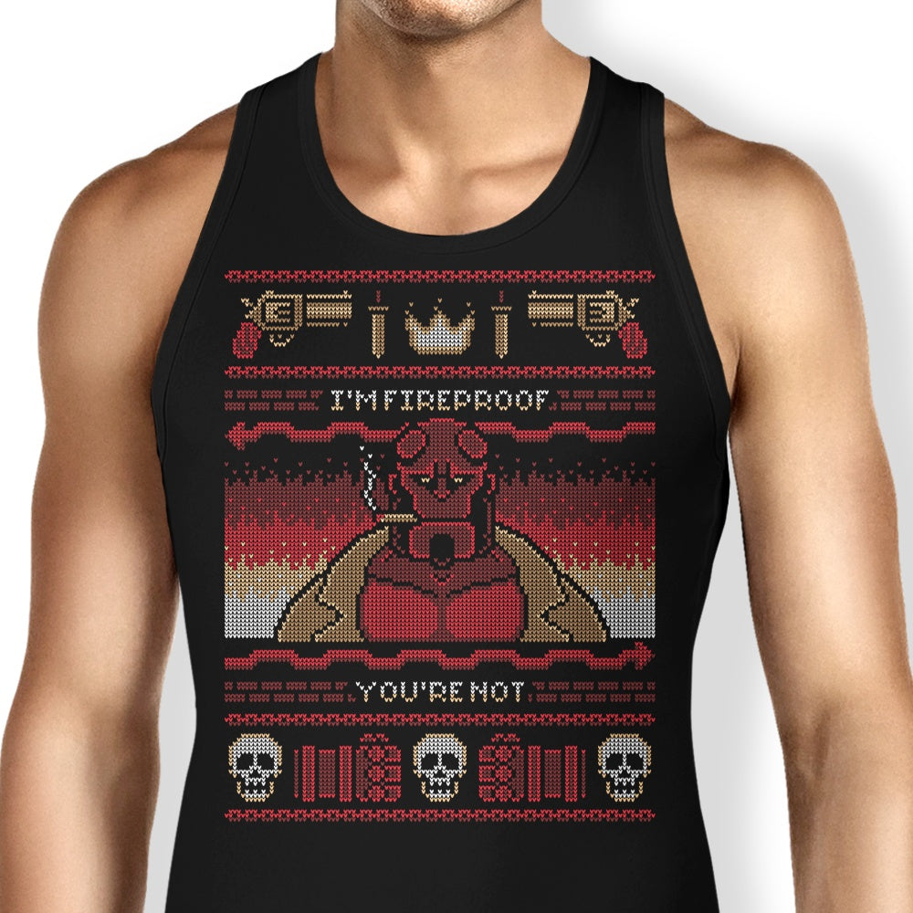 I'm Fireproof - Tank Top