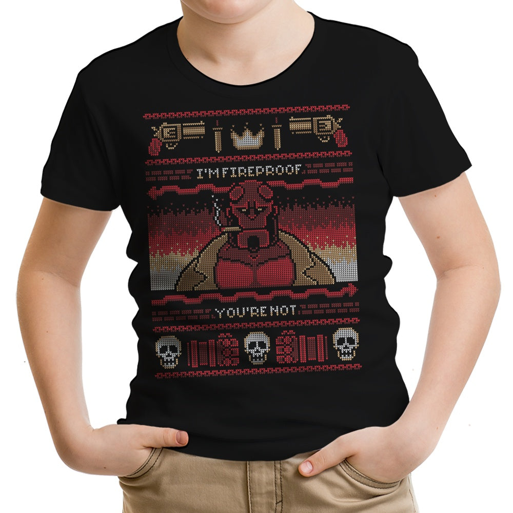 I'm Fireproof - Youth Apparel