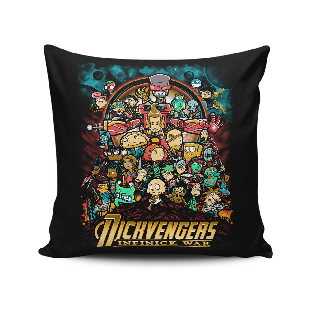 Infinick War - Throw Pillow