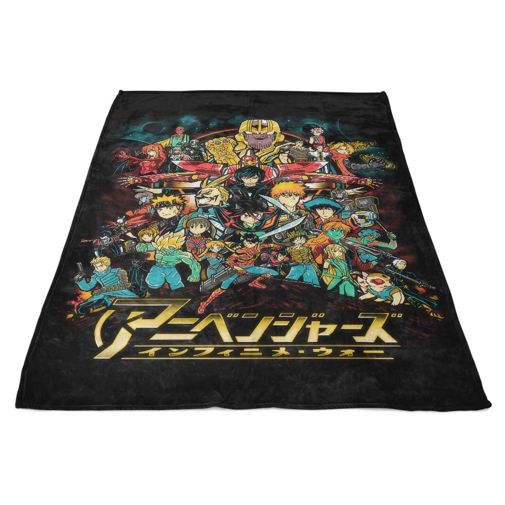 Infinime War - Fleece Blanket
