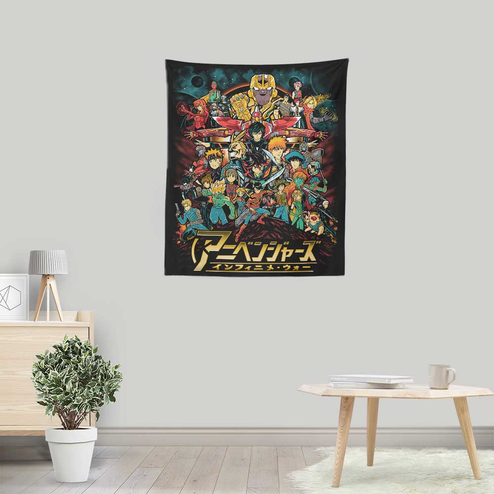 Infinime War - Wall Tapestry