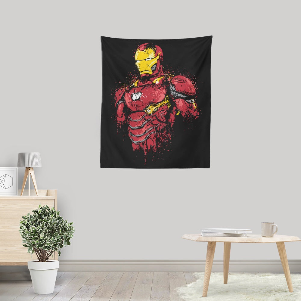 Infinite Iron - Wall Tapestry