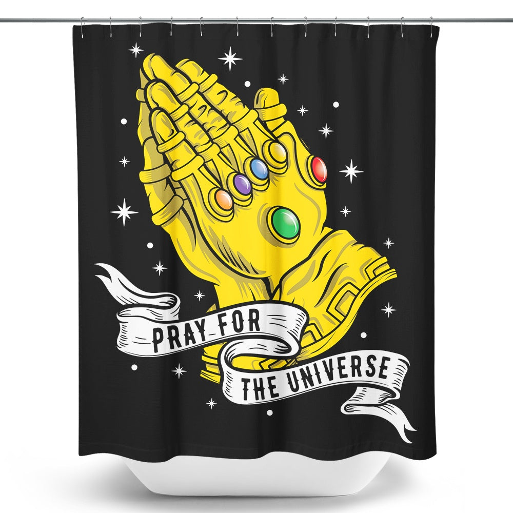 Infinite Prayer - Shower Curtain