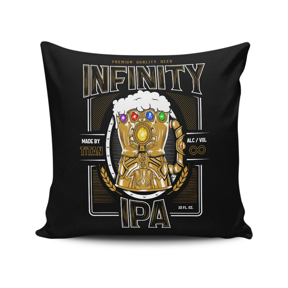 Infinity IPA - Throw Pillow