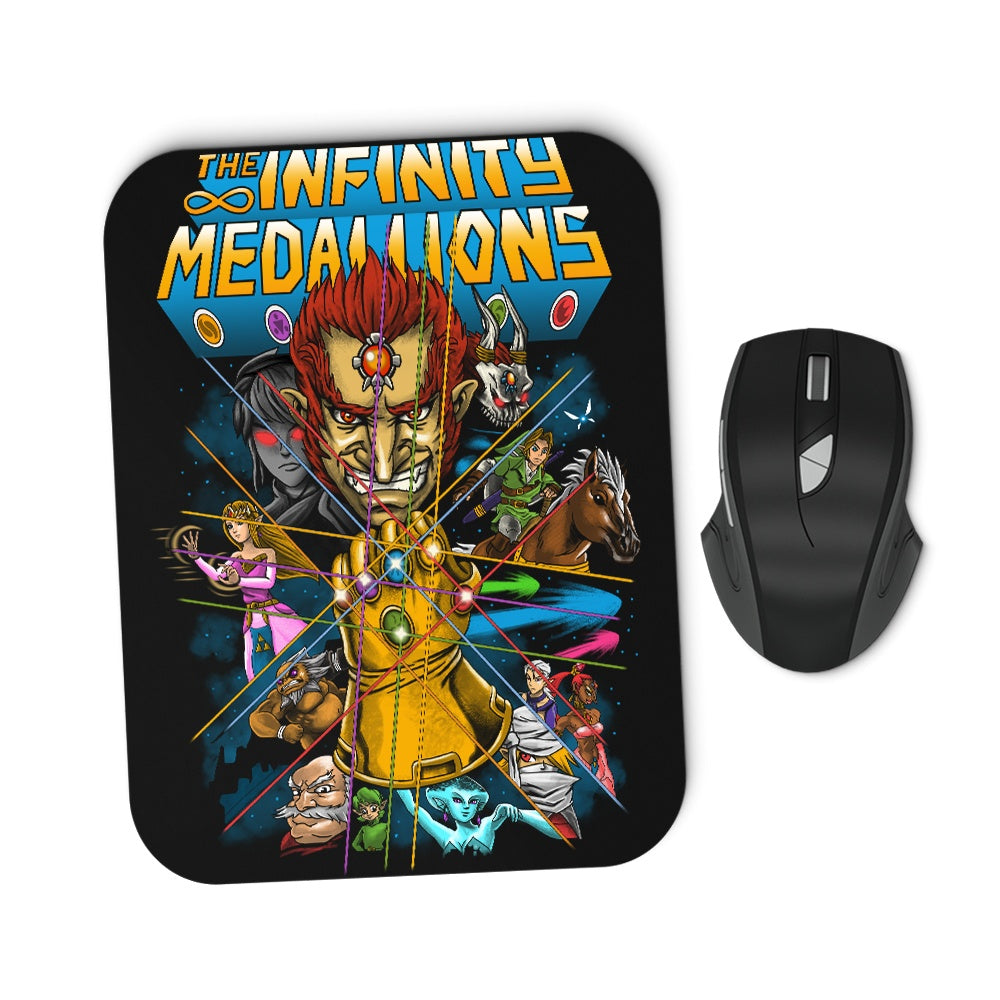Infinity Medallions - Mousepad