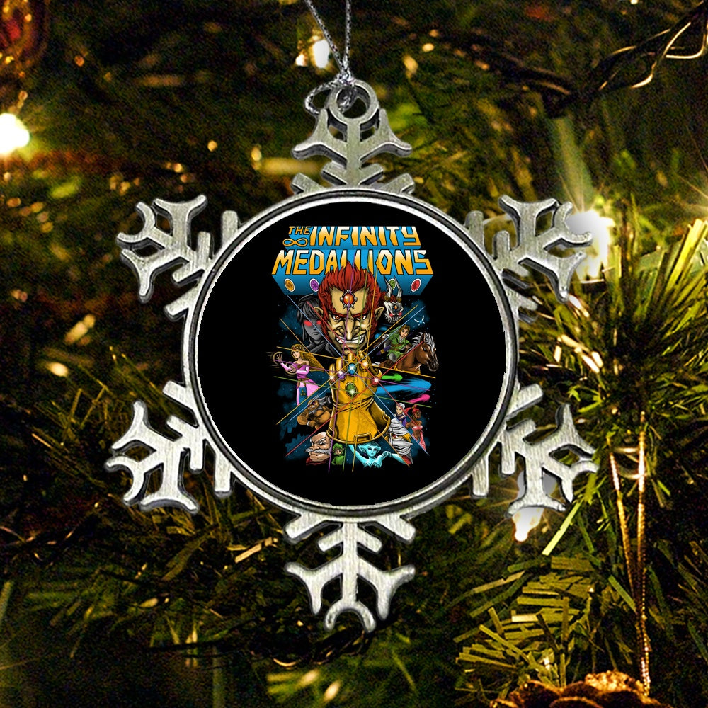 Infinity Medallions - Ornament