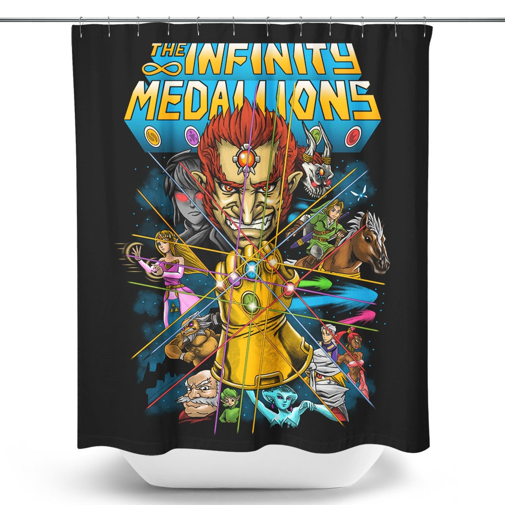 Infinity Medallions - Shower Curtain