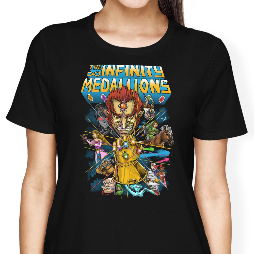 Infinity Medallions - Women's Apparel