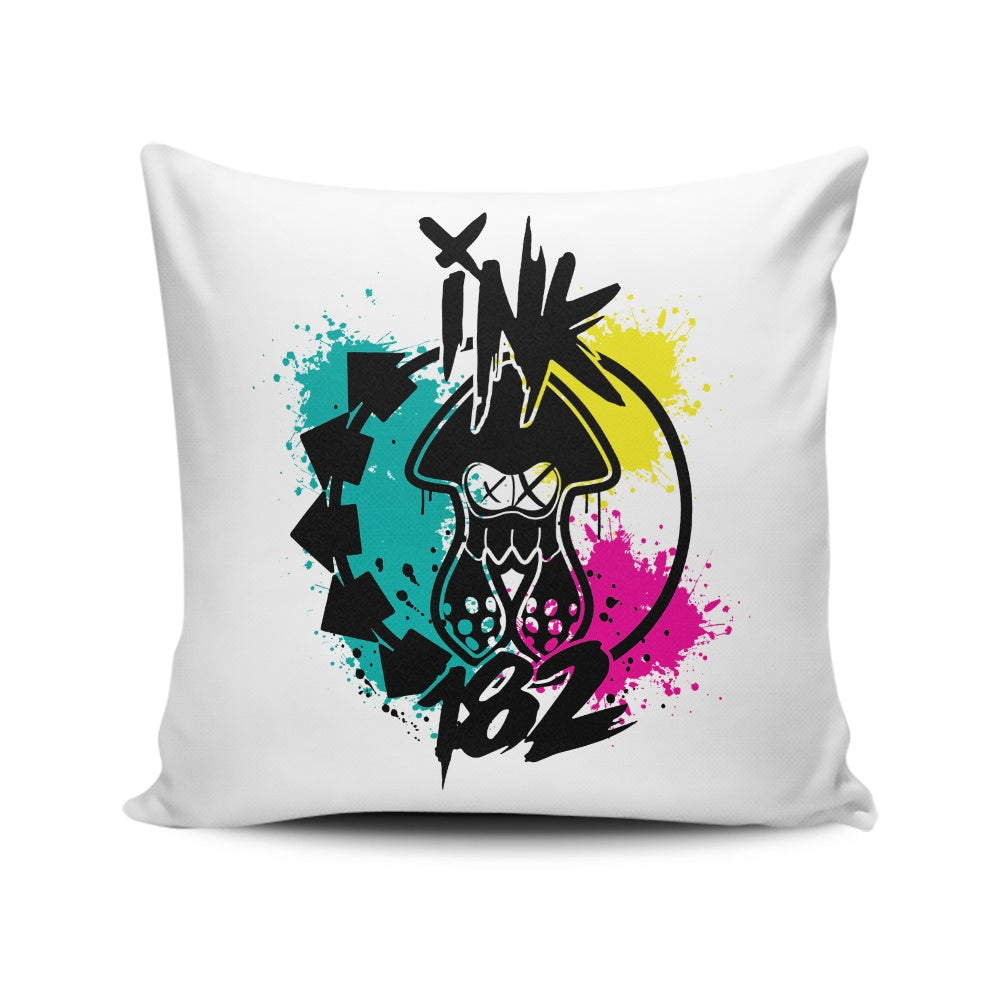 Ink-182 - Throw Pillow