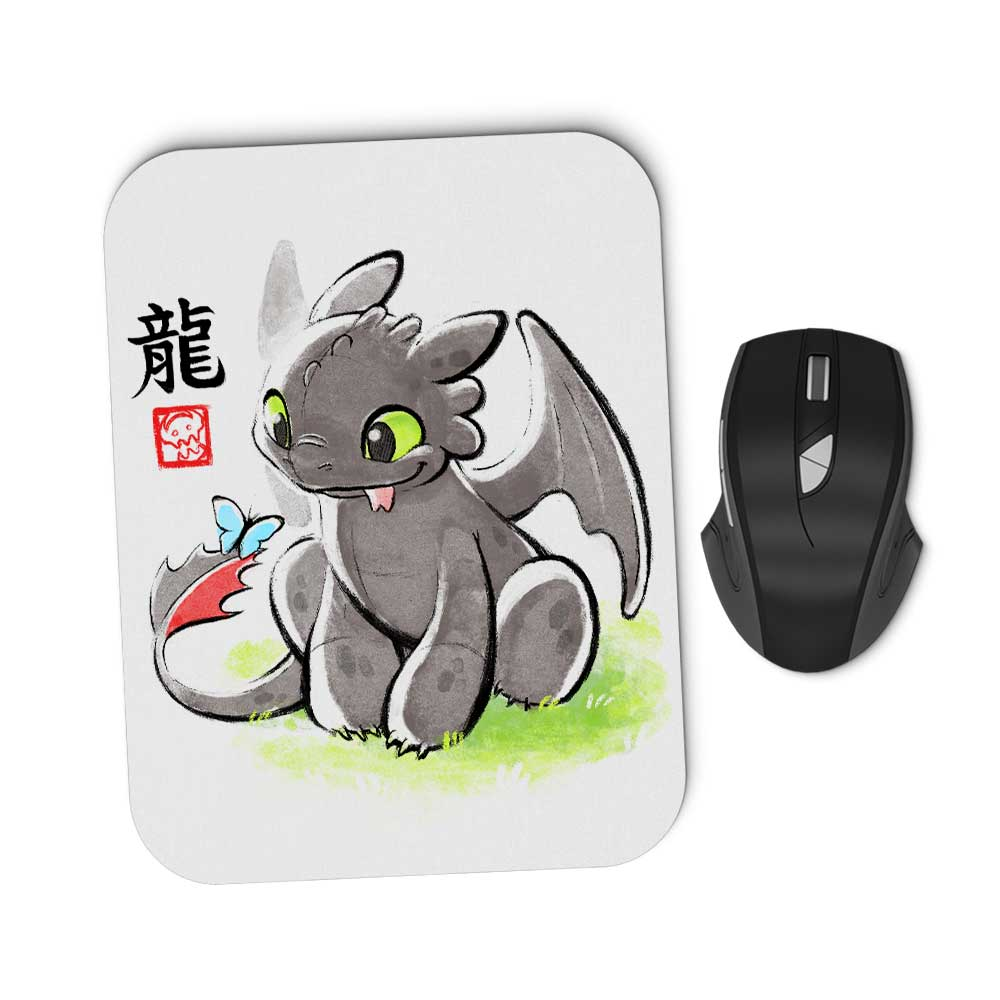 Inked Dragon - Mousepad