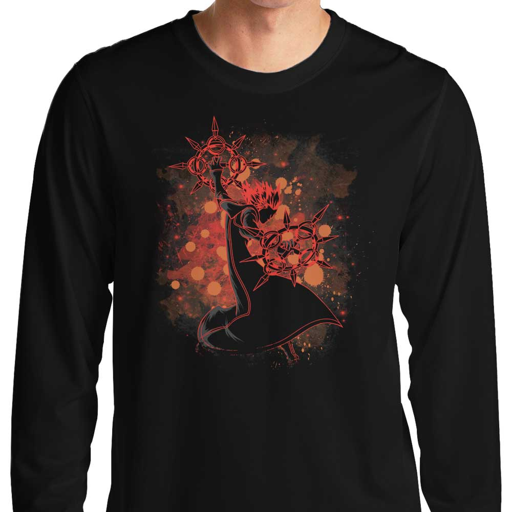 Inked Flurry - Long Sleeve T-Shirt