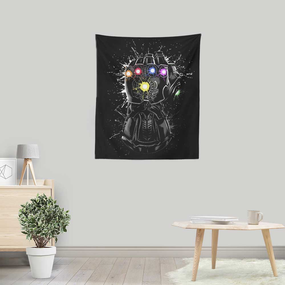 Inked Gauntlet - Wall Tapestry