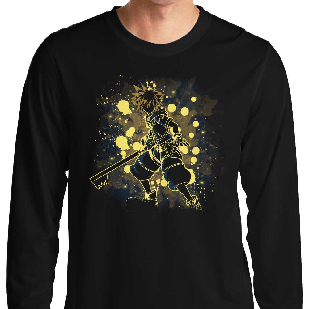 Inked Keyblade - Long Sleeve T-Shirt