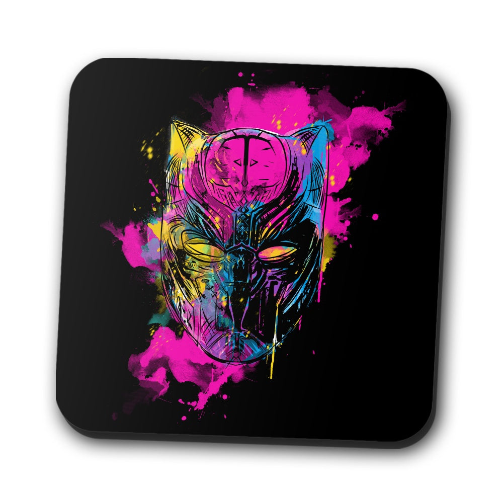 Inked Panther - Coasters