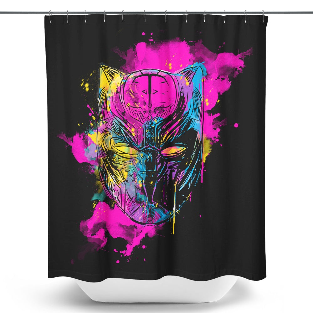 Inked Panther - Shower Curtain