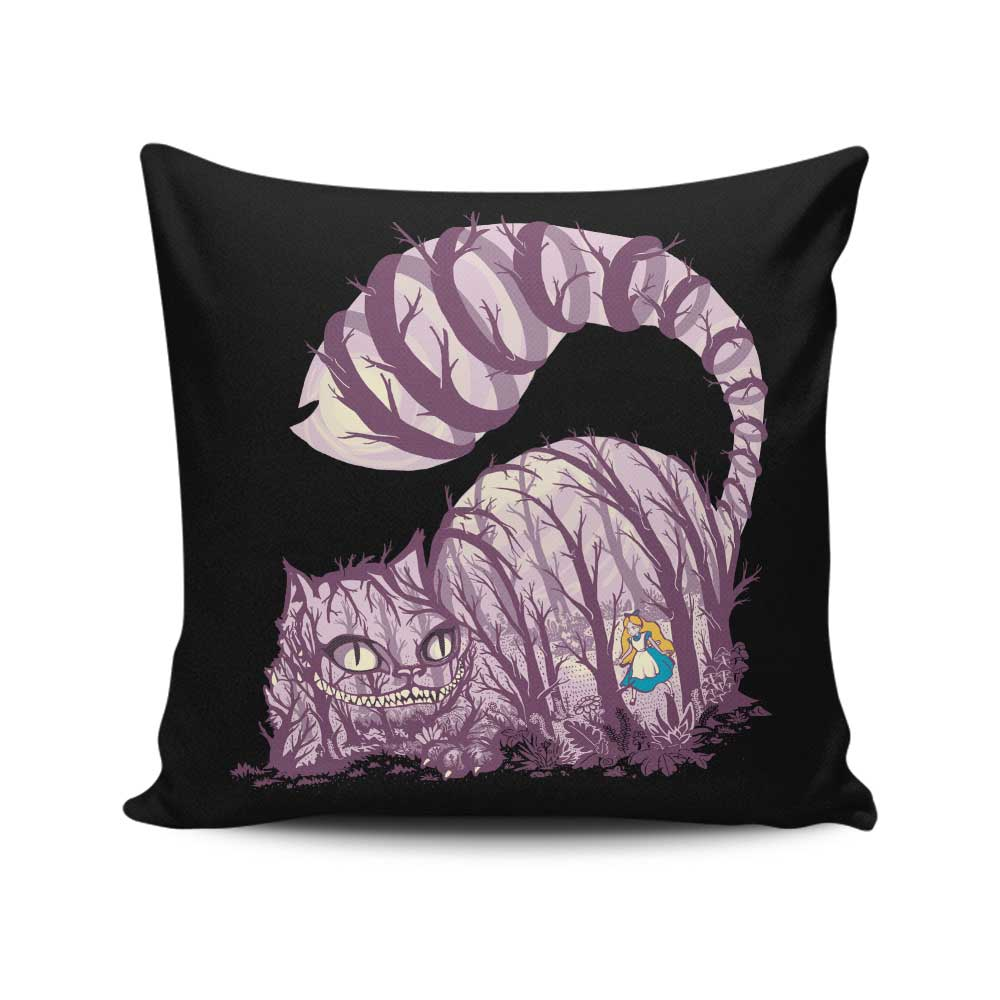 Inside Wonderland - Throw Pillow