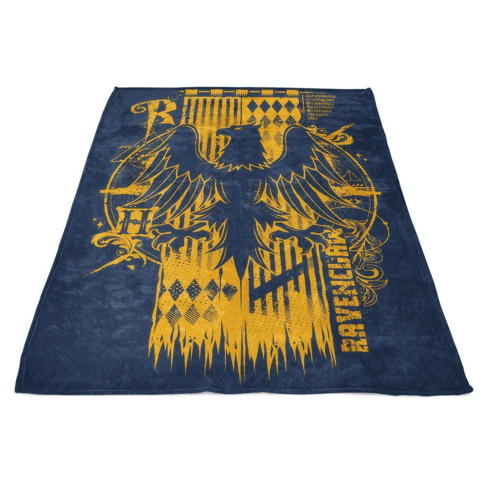 Intelligence, Wisdom, and Wit - Fleece Blanket