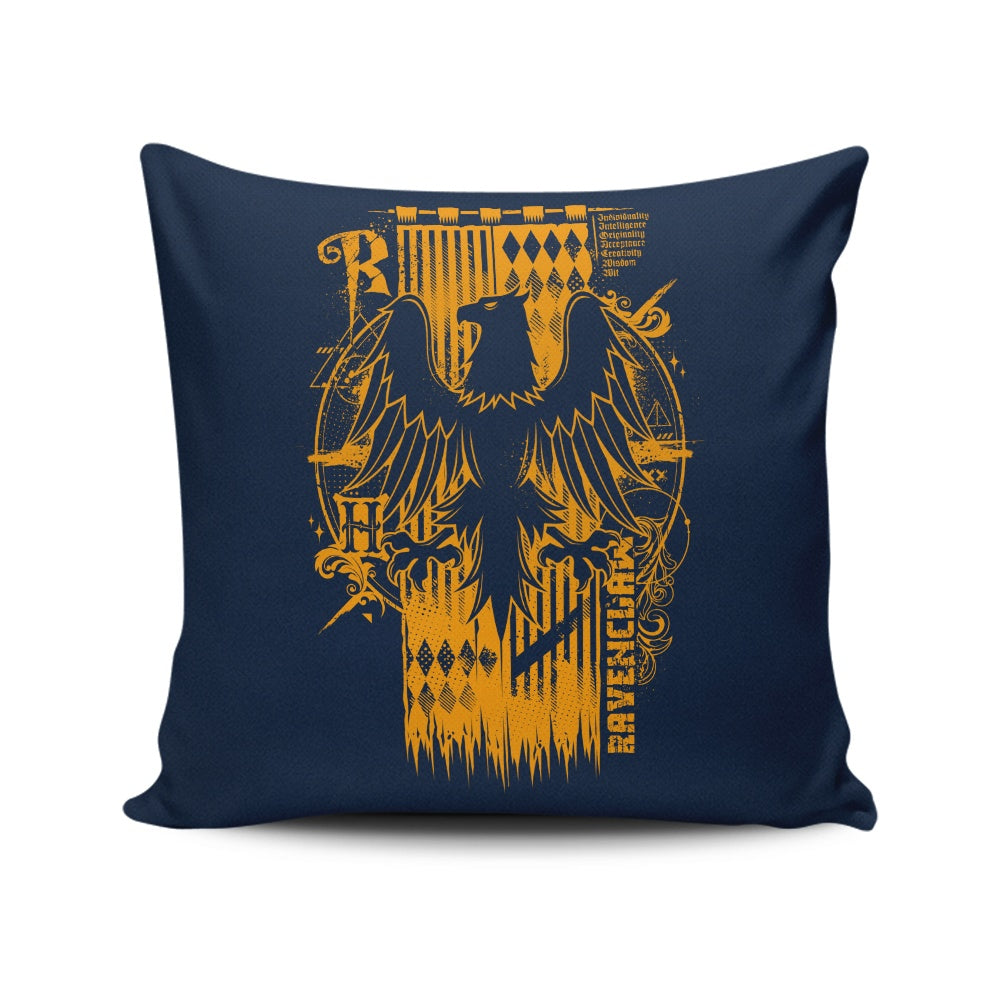 Intelligence, Wisdom, and Wit - Throw Pillow
