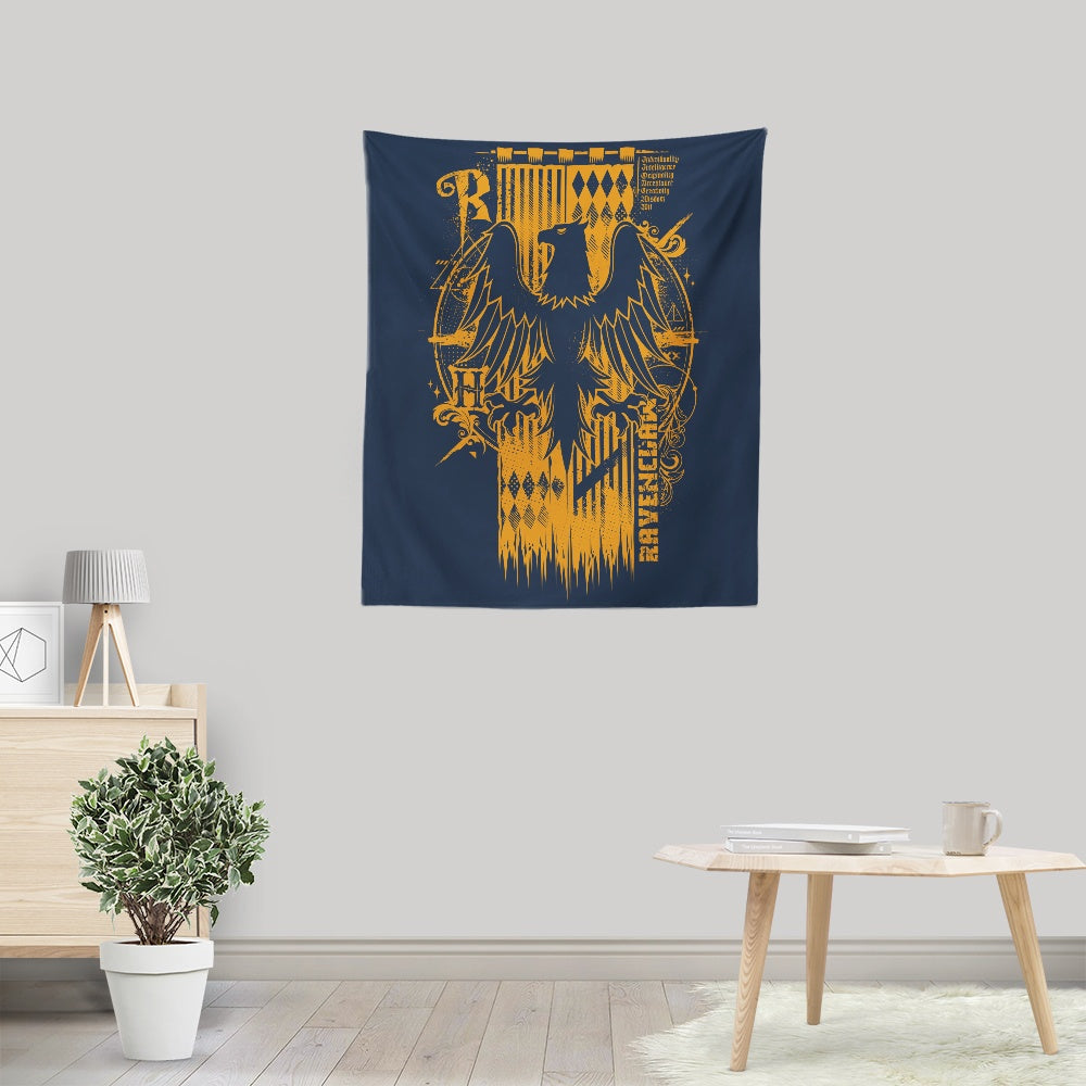 Intelligence, Wisdom, and Wit - Wall Tapestry