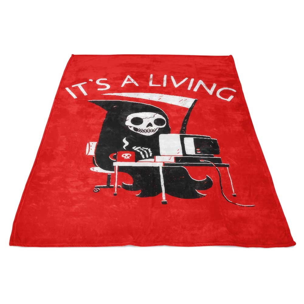 It's a Living - Fleece Blanket