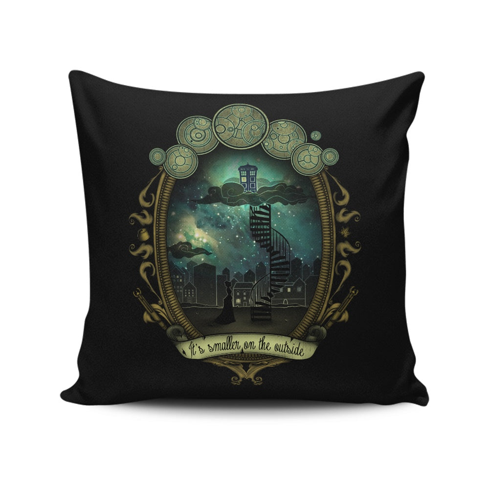 It's Smaller on the Outside - Throw Pillow