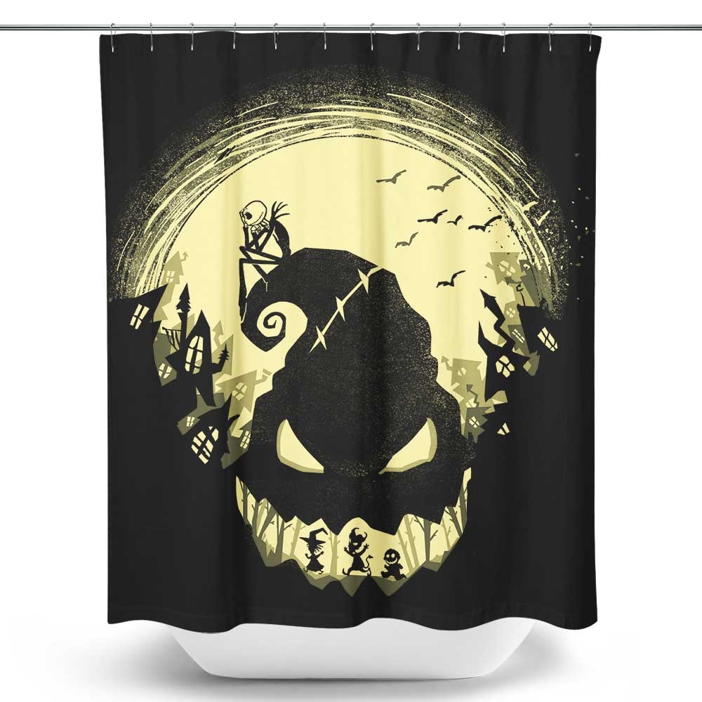 Jack's Nightmare - Shower Curtain