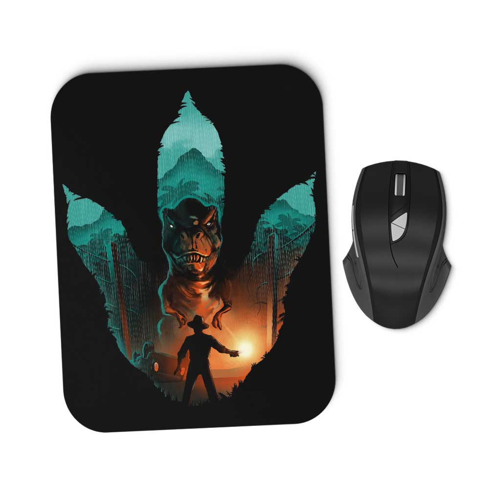 Jurassic Footprint - Mousepad