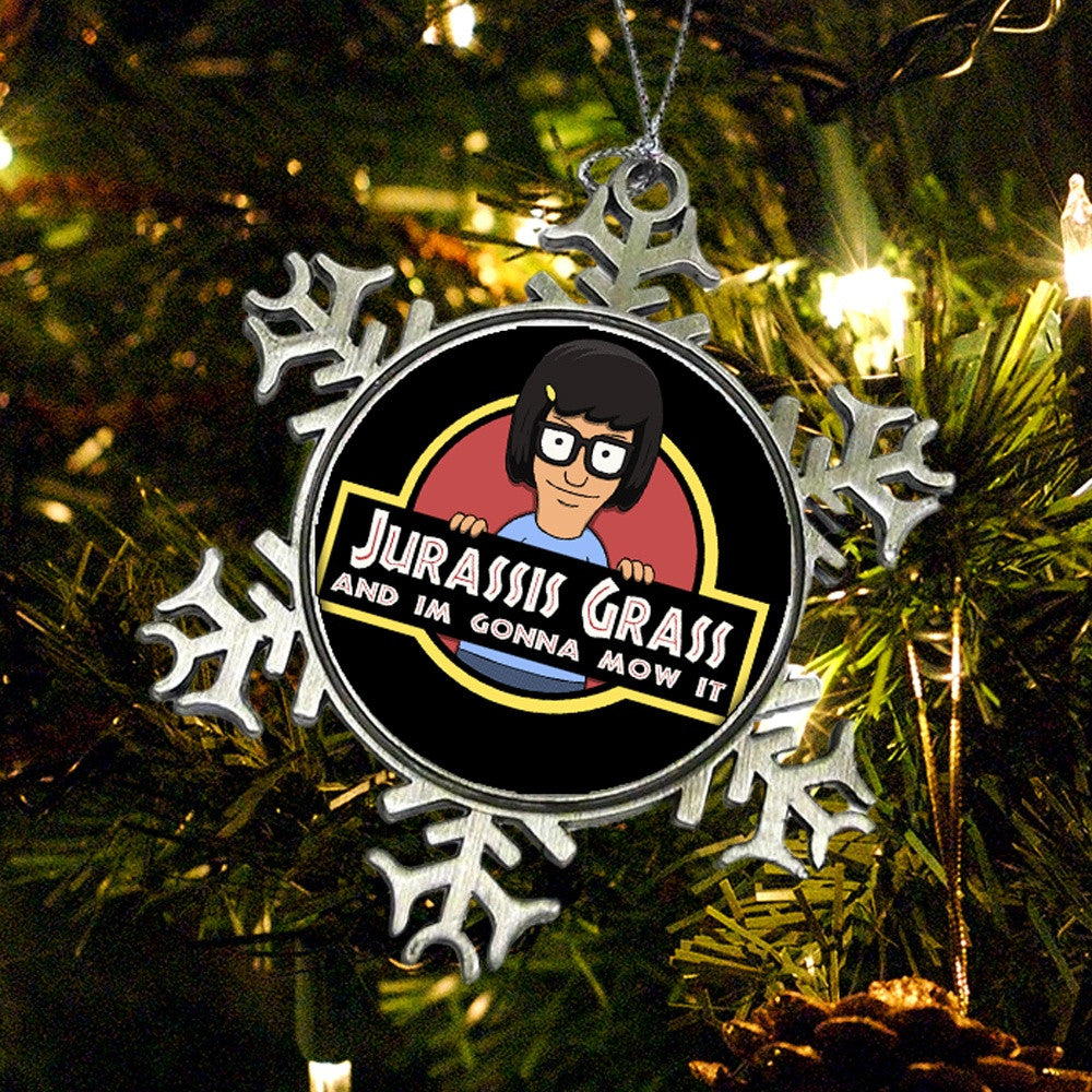 Jurassis Grass - Ornament