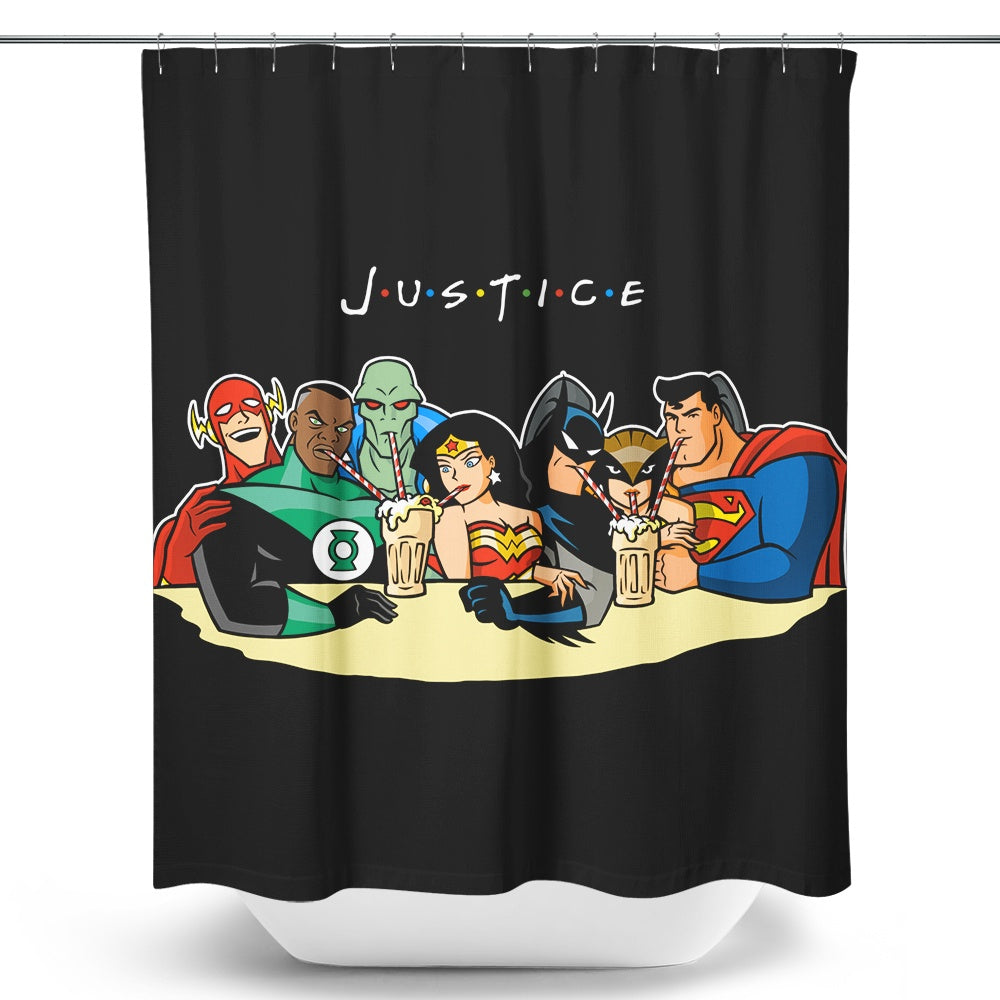 Justice Friends - Shower Curtain