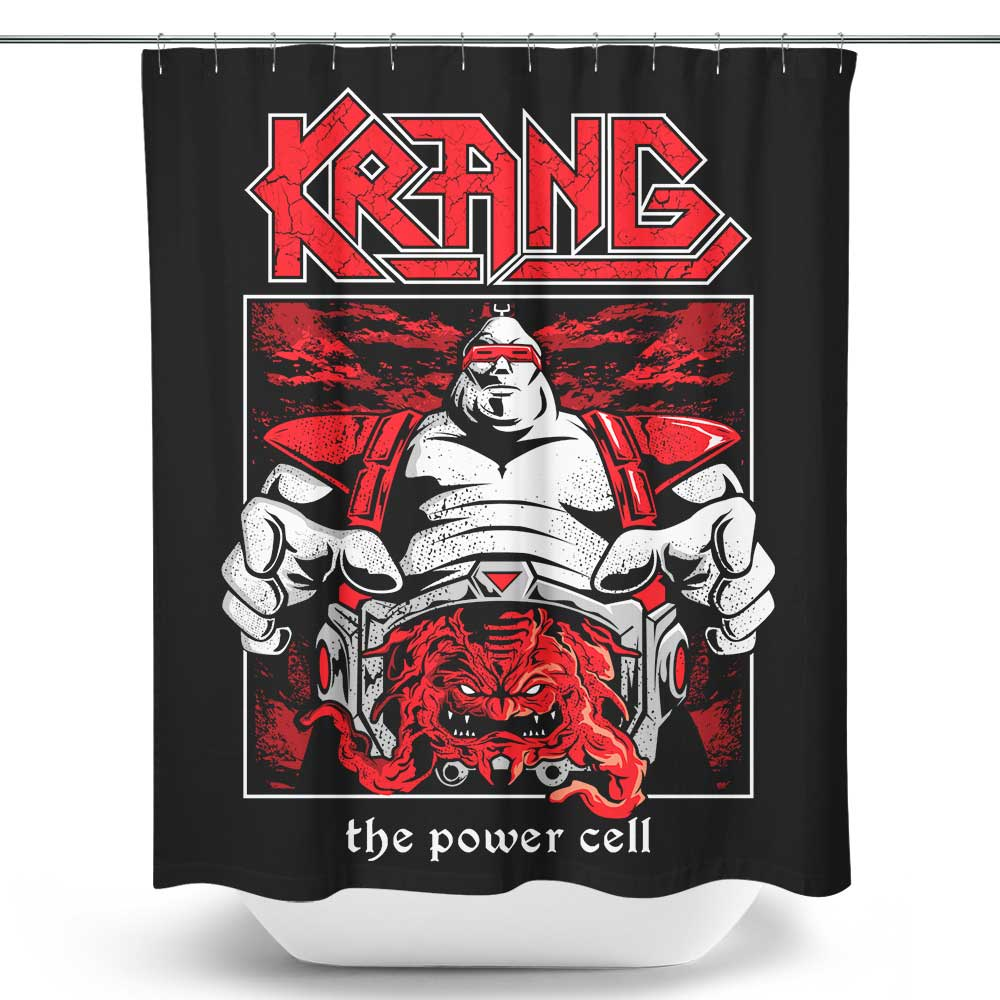 KRANG X KREATOR - Shower Curtain