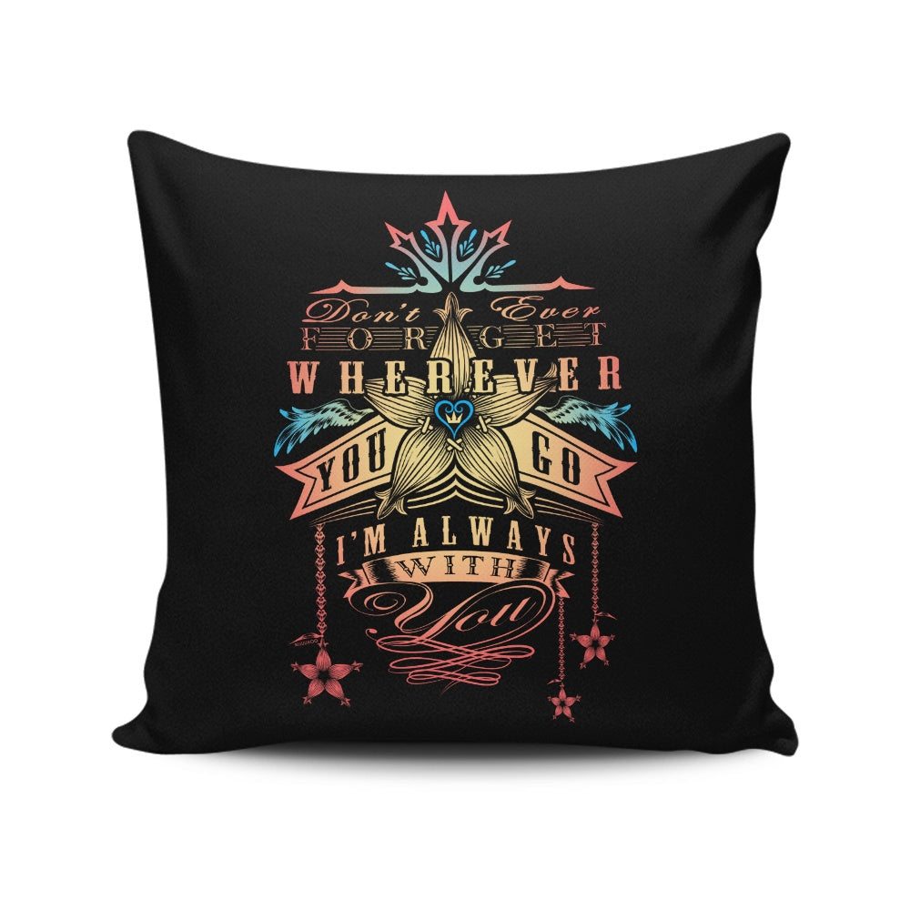 Kairi's Oath - Throw Pillow