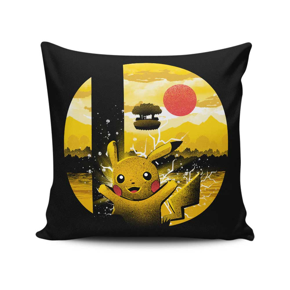 Kanto Smash - Throw Pillow