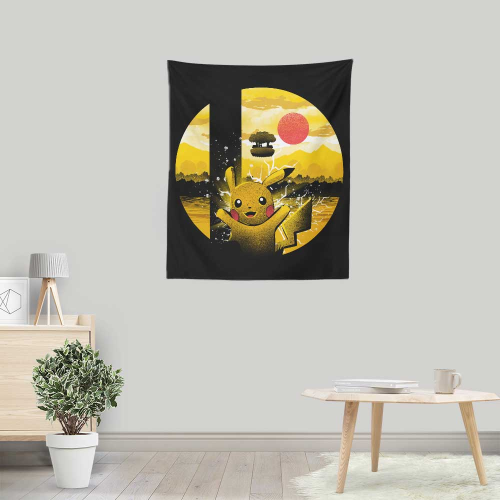 Kanto Smash - Wall Tapestry