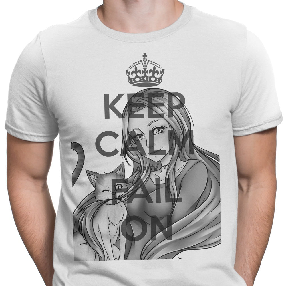 Keep Calm and Fail On - Men's Apparel