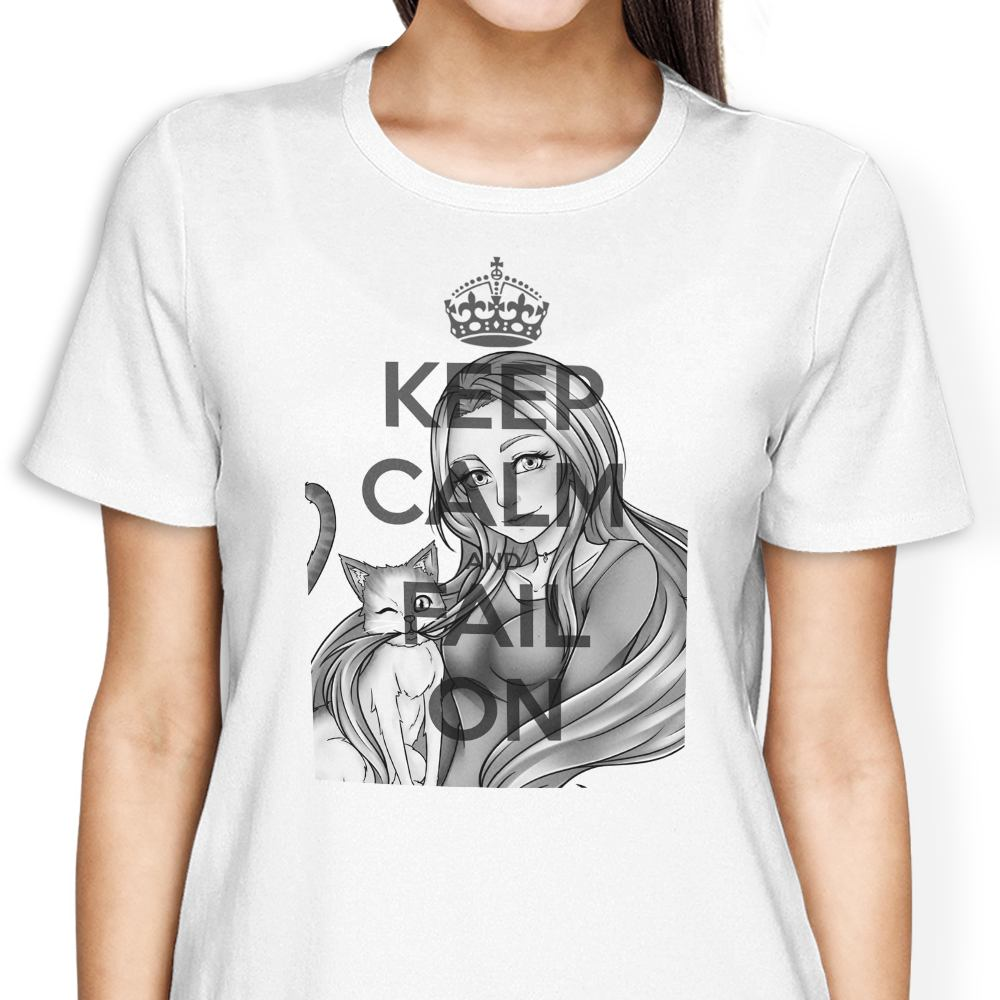 Keep Calm and Fail On - Women's Apparel